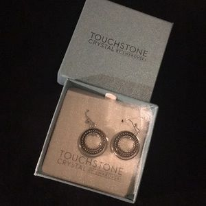Touchstone Crystal Round & Round Earrings